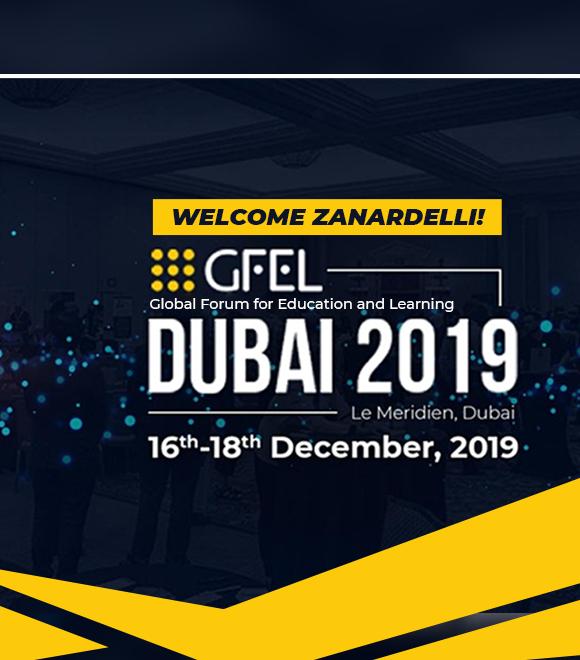 Benvenuto Zanardelli nel GFEL 2019 di Dubai! 1