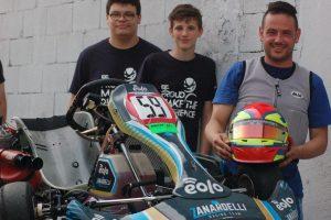 C.F.P. G. Zanardelli kart team più veloce con EOLO 23