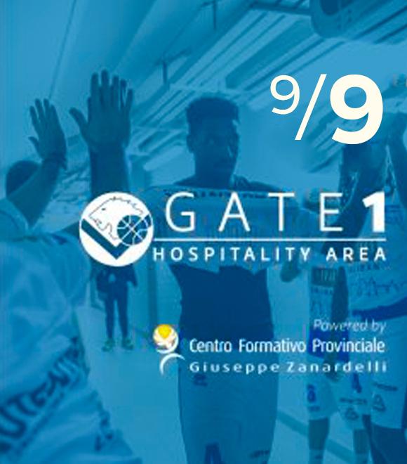 GATE ONE HOSPITALITY                  più grande dal 9 dicembre!