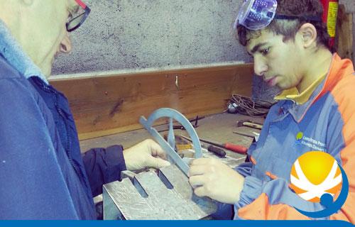 Operatore delle Lavorazioni Artistiche: Metalli in collaborazione con SCUOLA FUCINA di BIENNO