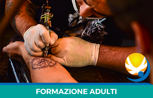 Operatore tatuaggi con abilitazione igienico sanitaria