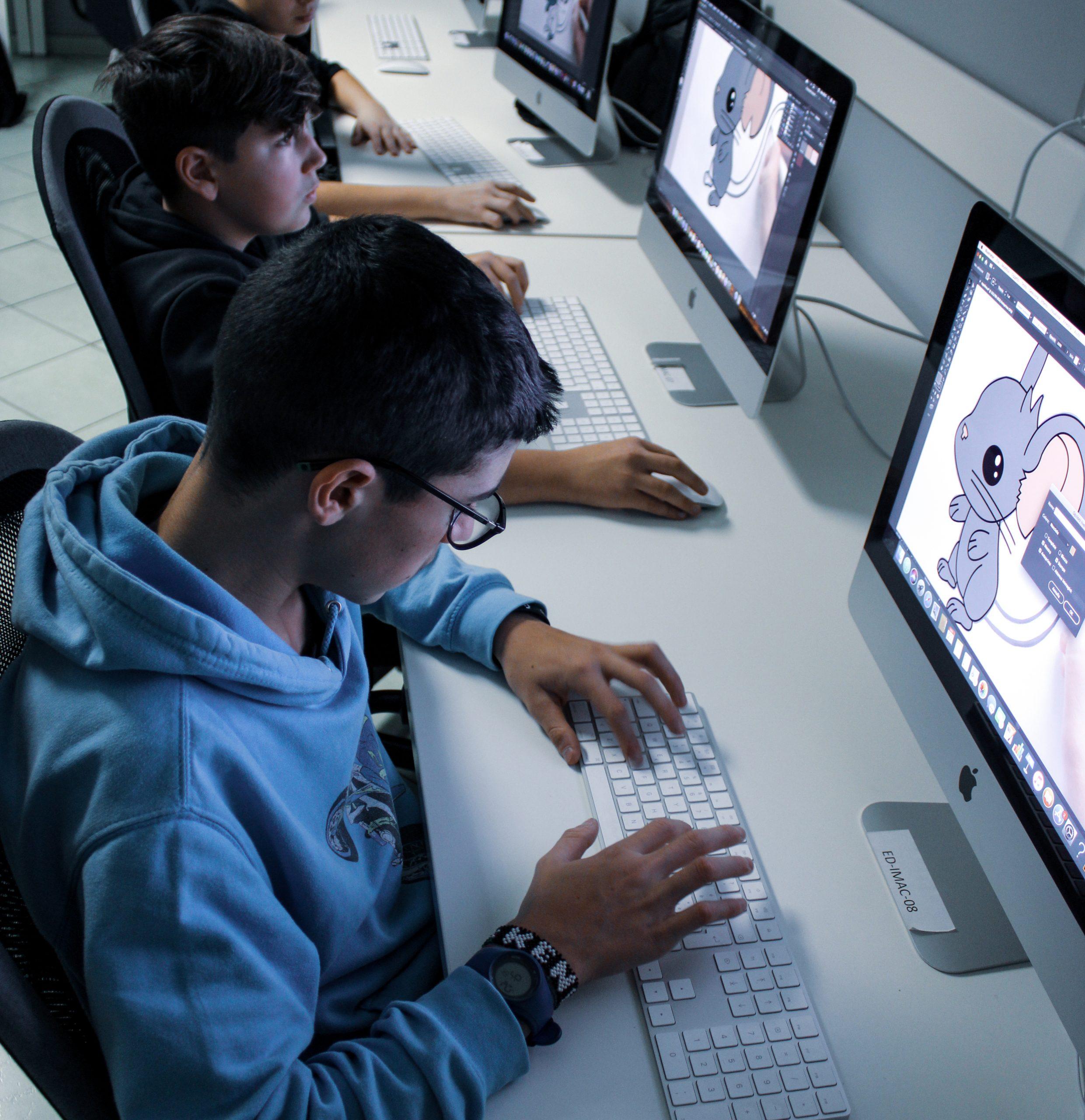 Un nuovo laboratorio per il grafico multimediale di Edolo