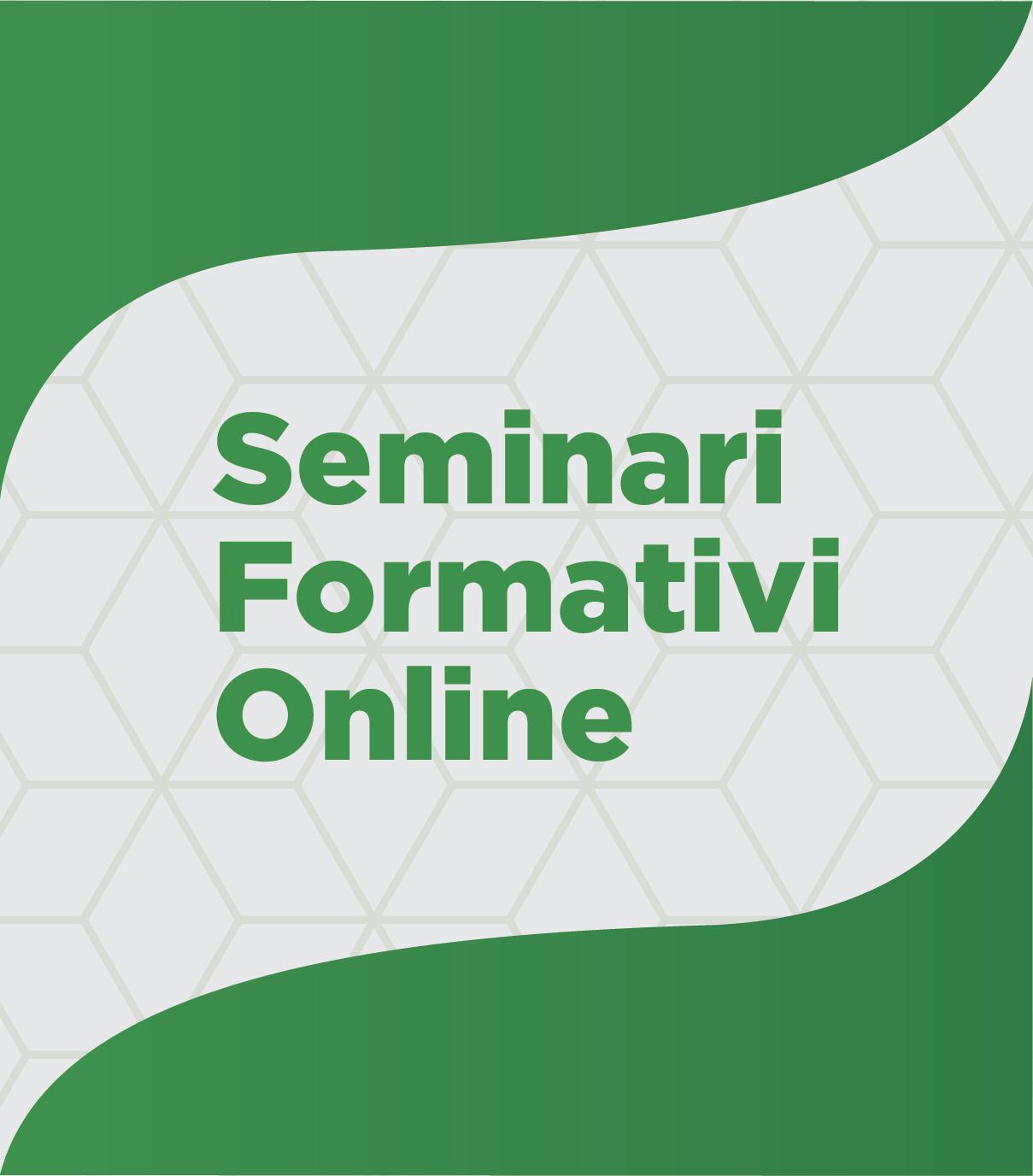 Seminario Formativo in Videoconferenza